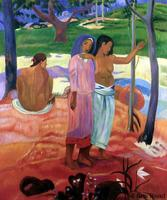 Abstract Figures Painting The Call, 1902 by Paul Gauguin Oil Paintings Hand made Museum Quality