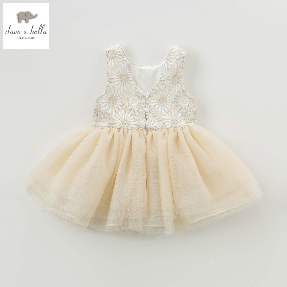 DB5465 dave bella summer baby girls flowers dress wedding dress baby sweet princess dress kids birthday party kids costumes db4953 dave bella summer baby girl princess dress baby big bow net yarn wedding dress kids birthday clothes dress girls costumes