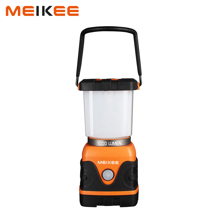 1000lm Portable LED Camping Lantern Battery Powered Water Resistant Camping Gear Equipment Flashlight Lanterns Tent Lights