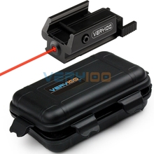VERY100 Red Dot Laser Sight Fit 20mm or 21mm Tactical picatinny Weaver Rail Mount Pistol Gun