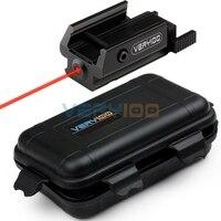 VERY100 Red Dot Laser Sight Fit 20mm ou 21mm Tactique picatinny Rail de Tisserand Mont Pistol Gun