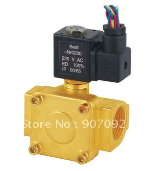 ФОТО Free Shipping 3/4'' Port Size 0927300 Diaphragms Solenoid Valves NC 5pcs In Lot