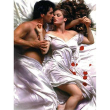 Lovers diamond Embroidery diy painting mosaic diamant 3d cross stitch pictures H700
