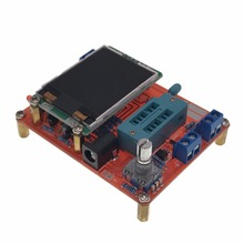 2017 Transistor Tester TFT Diode Triode Capacitance Meter LCR ESR NPN PNP MOSFET m328 transistor tester esr