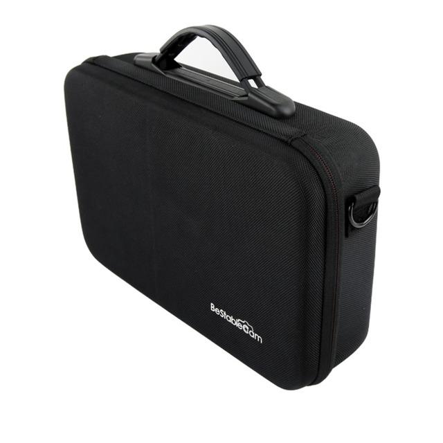 F19344 bestablecam bolsa de viaje portátil cardán para zhiyun evolución z1 z1 pro feiyu tecnología g4 manejado cardán gopro smartphone