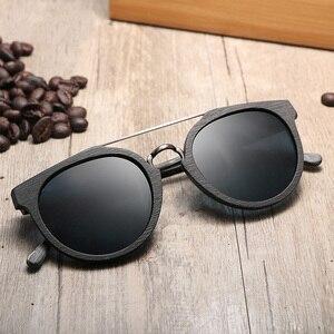 Image 4 - Vintage Acetate Wood Sunglasses For Men/Women High Quality Polarized Lens UV400 Classic Sun glasses