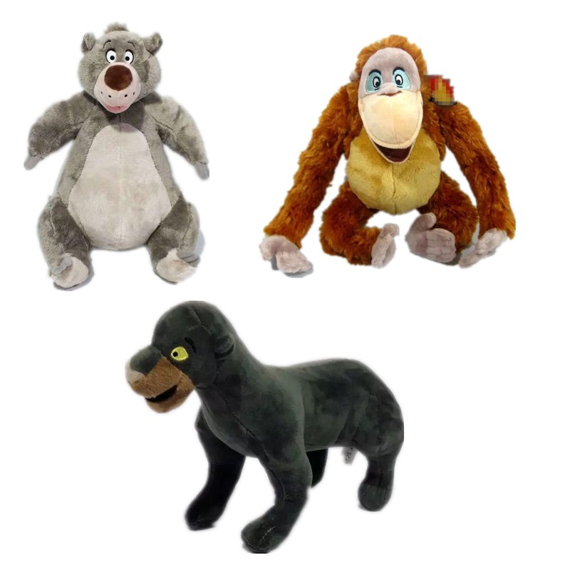 new 1pieces/lot 32cm plush jungle book bear baloo doll toy cartoon animal Furnishing articles Childrens giftnew 1pieces/lot 32cm plush jungle book bear baloo doll toy cartoon animal Furnishing articles Childrens gift