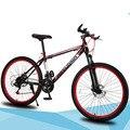 Горный велосипед  26-дюймовый 21 скоростной амортизатор  двойной дисковый тормоз  студенческий велосипед Colofull