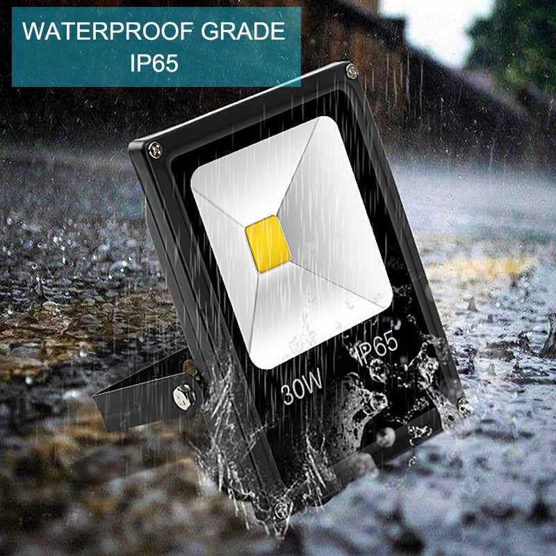 Outdoor Wall Exterieur Lamp 10W 20W 30W 50W LED Flood Light 220V 240V LED Floodlight Projector Reflector Lighting