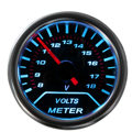 "2"" 52mm Universal 7 Color Shifter Digital LED Auto Car Volt Voltmeter Voltage"