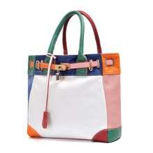 2016 neue Mode Pu-leder Frauen beutel handtaschen, damen Schultertasche Messenger Bag ~ Hit farben ~ Freies Verschiffen ~ 06