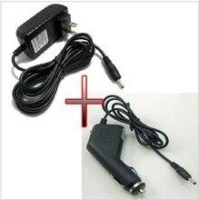 12 v 1.5A AC/DC fuente de Alimentación Adaptador de Cargador de Pared + dc adaptador de coche cargador para acer iconia tab a500 a501 a100 A200