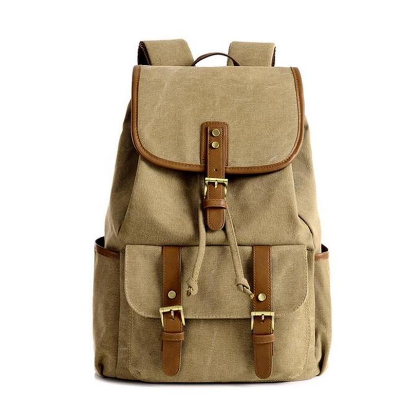 ФОТО EVISPO Hot sale 4 colors fashion canvas Bag Lady backpacks shoulder crossbody bag multifunction women backpack women bags