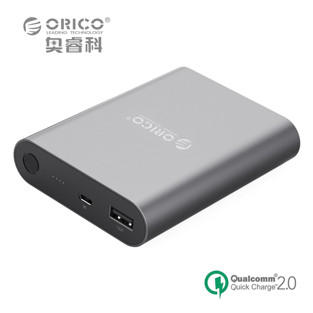 Qc2.0 10400ma cargador rápido universal portátil de alta capacidad banco de la energía para apple iphone 6 plus 6 s etc (ORICO Q1)