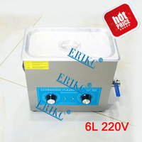 ERIKC Common Rail Injector Engine Parts Cleaning Machine E1024046 Auto Fuel Inyector Ultrasonic Cleaner Tester 220V  6V