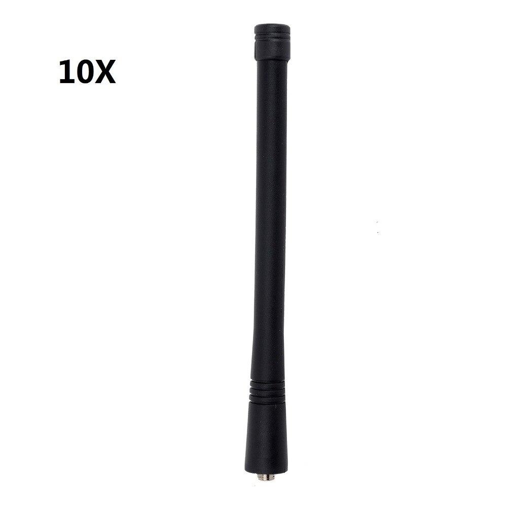 10QTY VHF Antenne 146-174 mhz pour Motorola GP328 GP338 GP68 GP88 GP88S GP300 CP200 EP350 série Talkie Walkies antenne