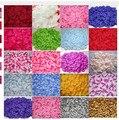 Pétalas de rosa Best Selling 200 pcs/packs Decorações de Casamento Moda Casamento Da Pétala Da Flor Artificial do Poliéster