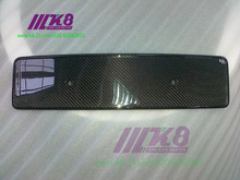Carbon Fiber Number Plate Licence Holder For Audi TTRS 2008-2013