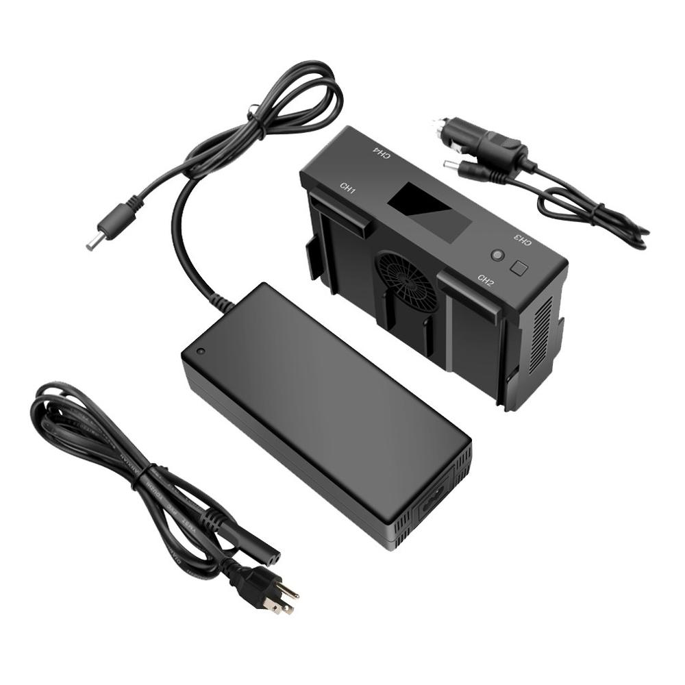 Opladen Hub Drone Charger Voor DJI Mavic 2 4 in1 Rapid Smart Multi Batterij Intelligente Lader Met LCD Display