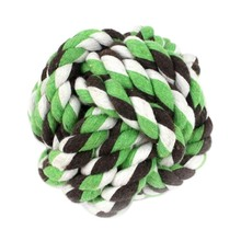 Dog Toys Resistant To Bite Bone Puppy Molars Play For Teeth Training Knot Rope Ball Pet Supplies