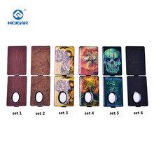 Original painel de bateria capa para hcigar vtinbox v3 frente + voltar substituição capa para bf caixa mod cigarro eletrônico