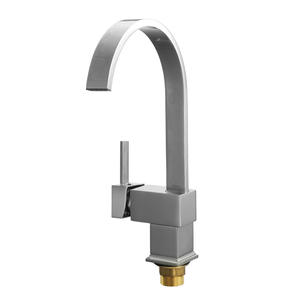 Basin Faucets Waterfall Kitchen-Mixer Single-Hole Copper European-Style