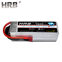 HRB 22,2 V Lipo батарея 6S 1800mah XT60 T Deans XT90 TRX EC5 50C для мультикоптера FPV гоночный самолет багги автомобиль лодка RC запчасти горячая распродажа