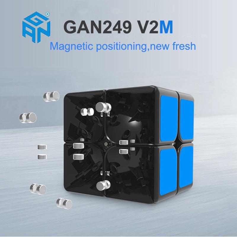 GAN249 V2 rompecabezas velocidad mágica cubo 2x2x2 profesional - Juegos y rompecabezas - foto 2
