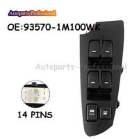 For KIA Forte Cerato Koup 2010 2013 Car Power Window Main Switch Drive Side 93570 1M100WK 935701M100WK High Quality