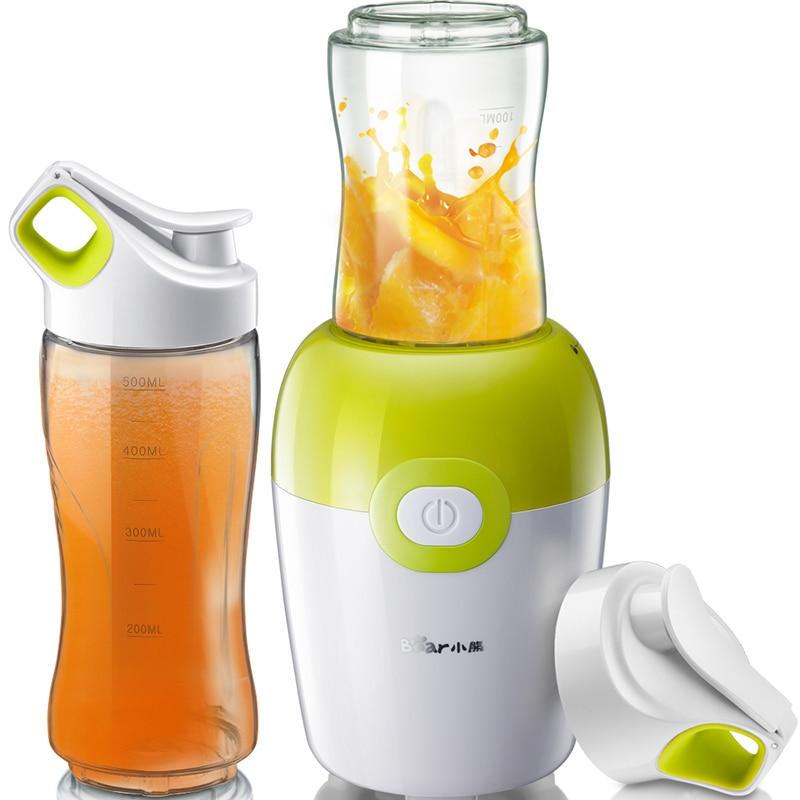 Bear Juicers 220V Portable Multifunctional Domestic Juicer Juice Cup Machine все цены