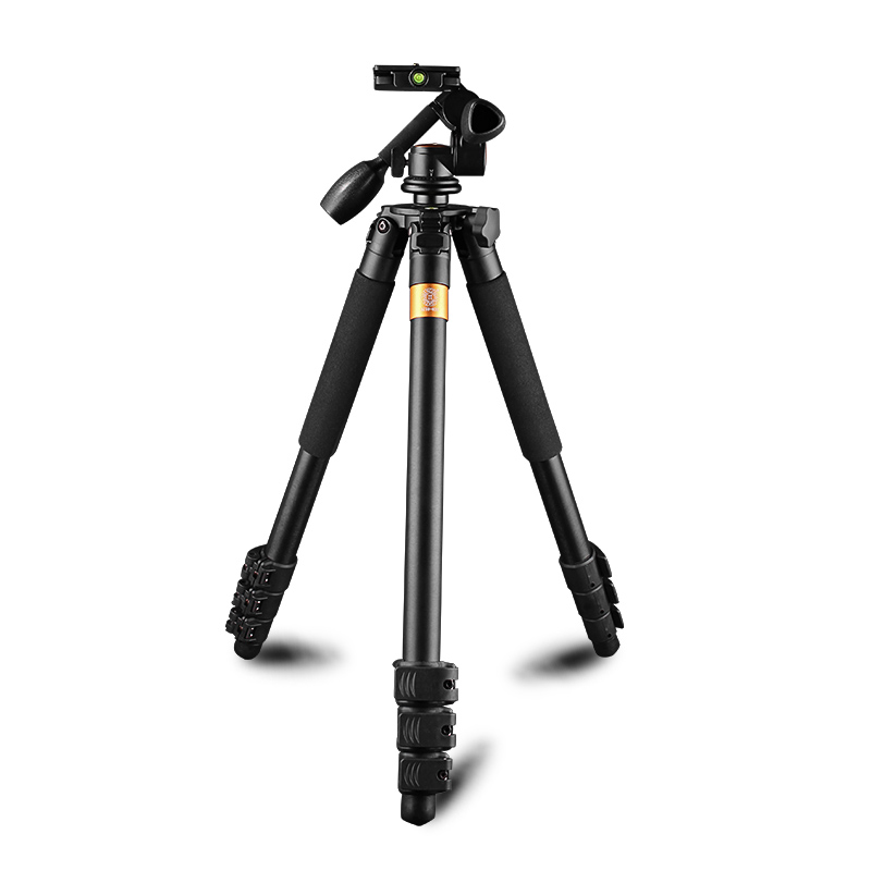 3 Way panhead camera tripod Q620 1830mm height 20kg loading kamera stand more stable easy for