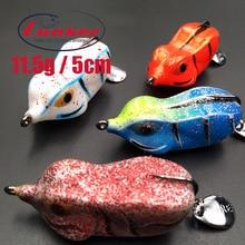 Lunker frog 11.5g 5cm pike snakehead goyard cat fish pesca fishing Lure artificial bait soft blade