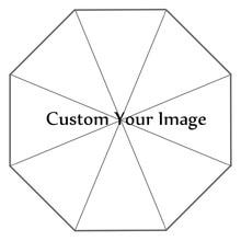 Custom Your Image Printing Foldable Sun Rain Travel Umbrella Non Automatic Decorative High Quality Umbrella Droping Shipping