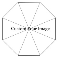 Sombrilla plegable de viaje con impresión personalizada, no automática, decorativa, alta calidad