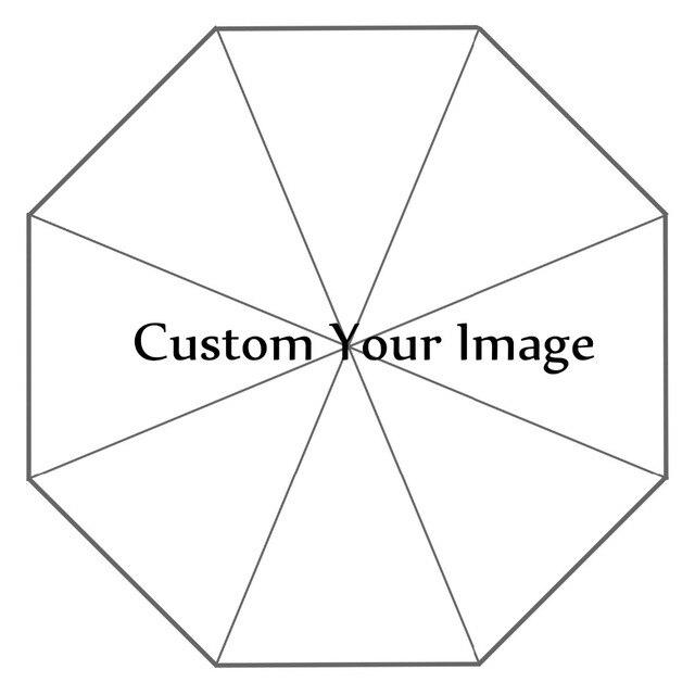 Su misura La Vostra Immagine di Stampa Pieghevole di Sun Pioggia Ombrello Da Viaggio Non Automatico Decorativo di Alta Qualità Ombrello Libero di Trasporto Droping