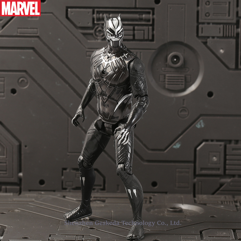 Hasbro Marvel Avengers Alliance tyrants Panther Spider-Man Panthers Ants Dolls Hand-made Models Children Adult Toys