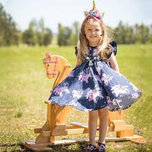 Baby Girls Floral Outfits Dress Costume 1-6Y