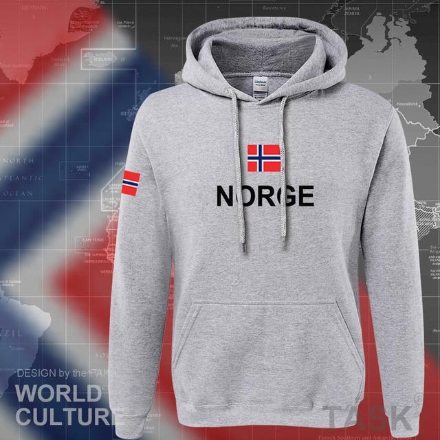 Norway hoodies men sweatshirt sweat new hip hop streetwear footballes jerseyes tracksuit nation Norwegian flag NO Norge Noreg 5