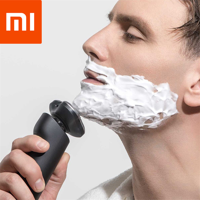 Xiaomi Mijia Electric Shaver 3 Head Flex Comfy Clean Dry Wet Shaving Waterproof Fast Charging Men Electric Smart Hair Removal