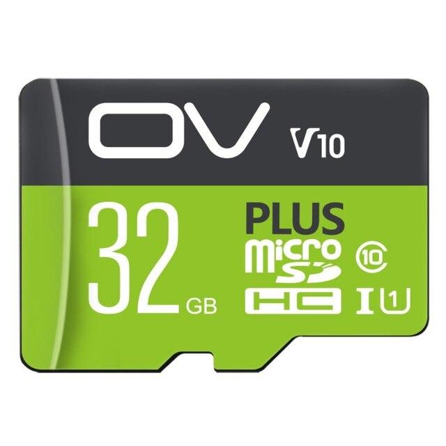 OV TF 32 GB (MicroSD) thẻ nhớ U1 C10 Tốc Độ Cao PLUS Phiên Bản Tốc Độ Đọc Tối Đa 98 MB/giây với Giá Rẻ Adapter