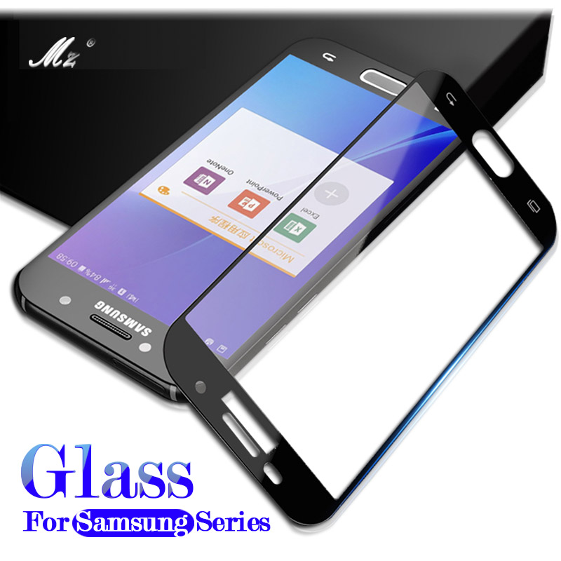 A520 Tempered Glass Screen Protector Case For Samsung Galaxy A3 A5 A7 A8 Plus J3 J5 J7 2016 2017 2018 S3 S5 S6 S7 J2 Prime Film