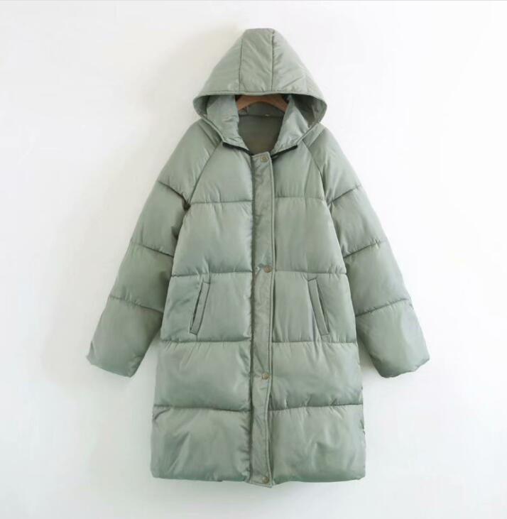 Hiver Coton Large New Manteau Noir Capuchon Genou De Sortir Femmes Épaississement Section Et Le gris 2019 Longue Veste vert Sur Clair À Mode qx5Z6XTwXd