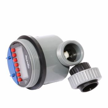 2szt elektroniczny wyświetlacz LCD Home Ball zawór wody Timer ogród nawadniania podlewanie regulator czasowy system 21026-2