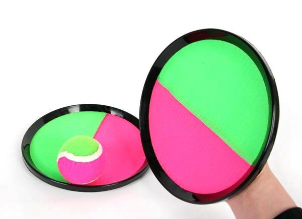 Bola objetivo chuck entre padres e hijos de los niños de kindergarten de la mano que lanza pegajosa stick balompié bola al aire libre juguetes de los deportes
