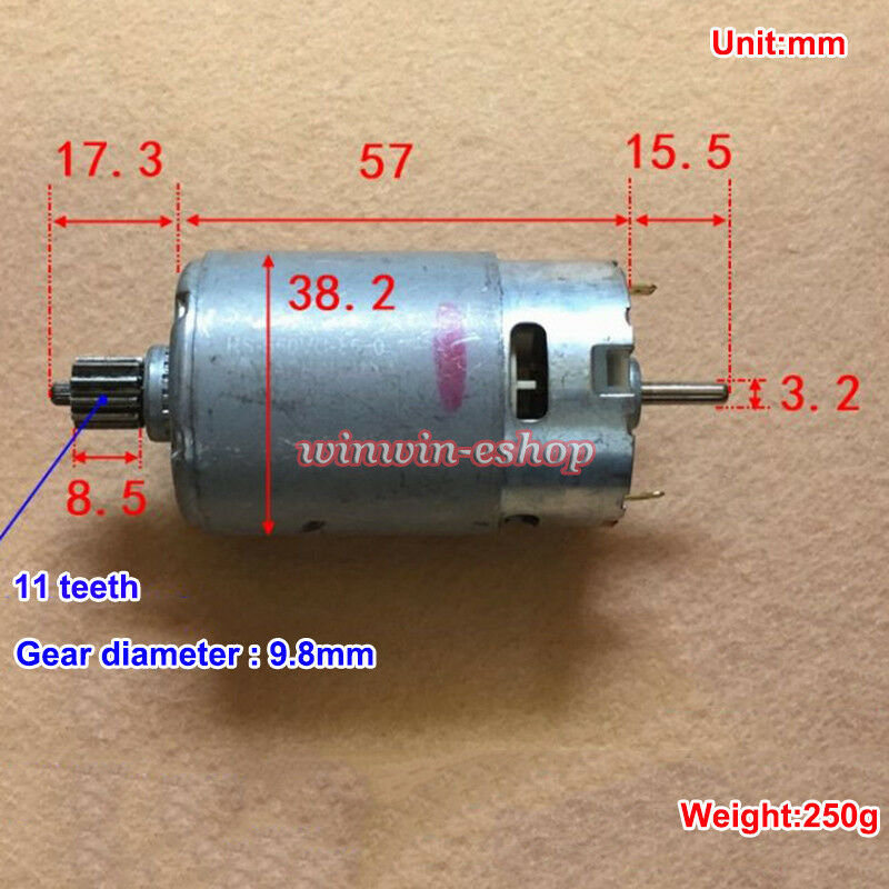 MABUCHI RS-550VC-8520 DC 12V 20000RPM High Speed Motor DIY Electric Drill Tools