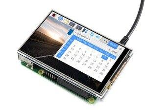 Image 2 - 4 インチのタッチスクリーン tft 液晶ラズベリーパイ 4 インチ rpi 液晶 (c) 125 mhz 高速 spi 抵抗タッチ 480 × 320 ハードウェア解像度