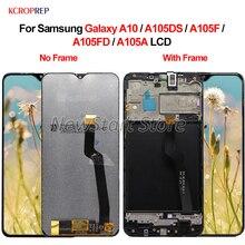 "Voor Samsung Galaxy A10 Lcd Touch Screen Digitizer Vergadering 6.2 ""100% Getest Voor Samsung A10 A105DS A105F A105FD a105A Lcd"