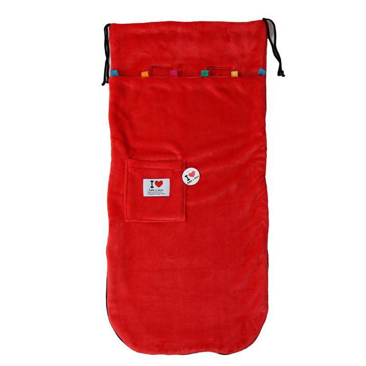 Двойные слои флиса foofcover коляска детская коляска спальный мешок сна мешок коляска покрытие для ног fleabag