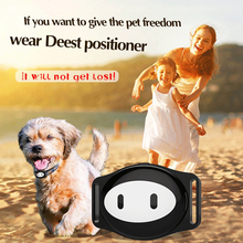 цена на Waterproof Mini Pet Gsm Gps Tracker Locator Collar For Dog Cat Long Standby Geo-fence Lbs Free App Platform Tracking Device