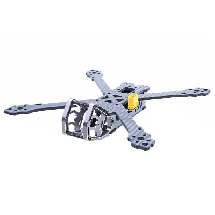 GEPRC Carbon Fiber Aircraft Frame GEP-KX5 Elegant True X Freestyle FPV Quadcopter Racing Drone Frame 243mm Wheelbase mini drone frame kit geprc gep tsx viper quadcopter frame kit 3k pure carbon fiber frame set for fpv rc uav multicopter diy fpv